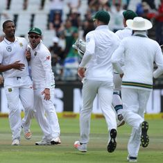 First Test, day 4 as it happened: Philander the star, India all out for 135