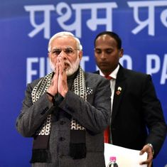 'India is not eyeing other countries' territories,' Modi tells parliamentarians of Indian origin