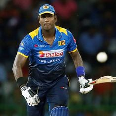 Angelo Mathews dropped from Sri Lanka's limited-overs squads after accusing cricket board