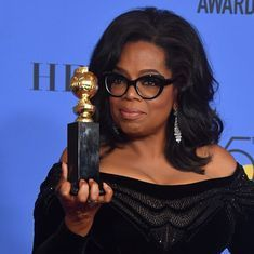 Oprah Winfrey's Golden Globes speech triggers speculation about US presidential bid
