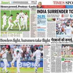 'Newlands, same old story': How Indian newspapers reacted to defeat in first Test