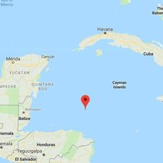 Tsunami warnings issued briefly after strong earthquake strikes the Caribbean
