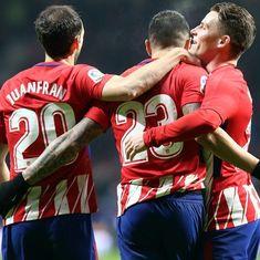 Copa del Rey: Atletico Madrid, Valencia register crushing wins to enter quarter-finals
