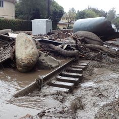 California: 13 killed after heavy rain triggers floods and mudslides in Santa Barbara County