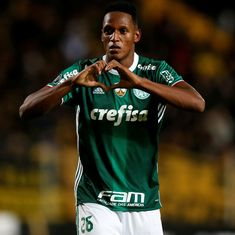 Colombia defender Yerry Mina joins Barcelona for €11.8 million