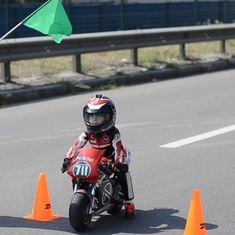 Video: This 4-year-old is the fastest baby biker, clocking 45 miles an hour on his tiny bikes