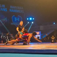 Pro Wrestling League: UP Dangal eke out 4-3 win over Punjab Royals