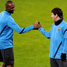 Messi barred Abidal from sending messages to Barcelona teammates during his battle with cancer