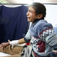 Video: Haunting images reveal how children continue to suffer in Syria