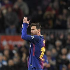 Copa del Rey: With Coutinho watching, Messi's brilliance takes Barcelona into quarters