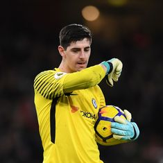 Thibaut Courtois skips training with Chelsea amid Real Madrid transfer speculation