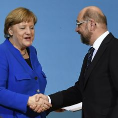 Germany: Angela Merkel's party reaches deal with former ally for negotiations to form government