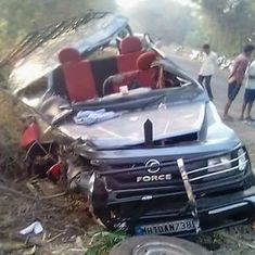 Five wrestlers among six killed in road accident in Maharashtra's Sangli district