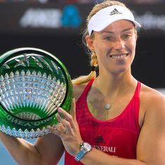 Angelique Kerber beats Ashleigh Barty in straight sets to win Sydney International title