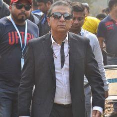 Sunil Gavaskar, Sanjay Manjerekar avoid injuries after mishap in commentary box at Lucknow stadium
