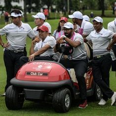 EurAsia Cup Golf: Asia stages comeback to lead Europe by a point at the end of day two