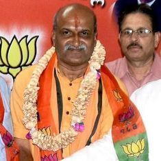 'Back-stabbed by BJP', Sriram Sene leader Pramod Muthalik brings Shiv Sena to Karnataka to get even