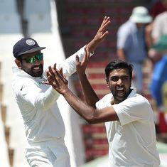 Adelaide Test, day two: Ashwin's liking for left-handers, Shaun Marsh's poor form and other stats