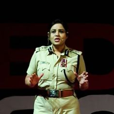 Watch: A female IPS officer speaks out on political corruption and sexism in the bureaucracy