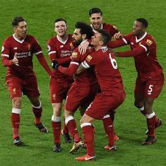 'This is how you welcome the champions-elect': Twitter hails Liverpool after ending City's run