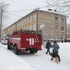 Russia: Eleven children injured as masked assailants open fire at school