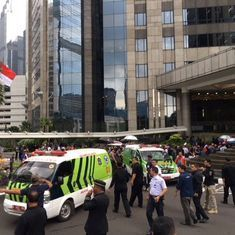 Jakarta: 77 injured after floor of Indonesia Stock Exchange collapses