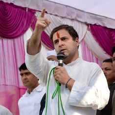 Clashes break out in Raebareli as Congress President Rahul Gandhi begins his Uttar Pradesh tour