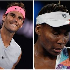 Australian Open Day 1 highlights: Rafa's return, Venus's exit and Rosewall's letter to Roger