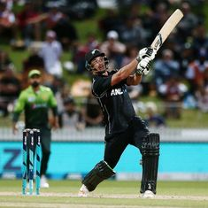 De Grandhomme's blitzkrieg sets up New Zealand's 5-wicket win against Pakistan in 4th ODI