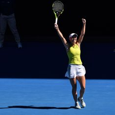 Aus Open women's round-up: Bencic knocked out, Wozniacki mounts epic comeback