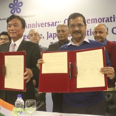 Delhi and Japan sign friendship agreement to tackle air pollution