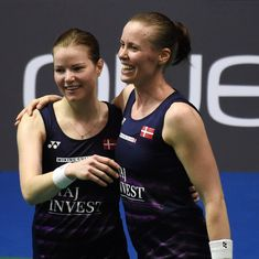 Interview: For doubles stars Perdersen-Juhl, success on court comes before their relationship