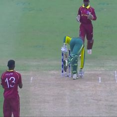 Obstructing-the-field dismissal at U19 World Cup sparks debate about spirit of cricket