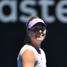 Australian Open women's round-up: Sharapova eases into Rd 3, Muguruza bows out after shock loss