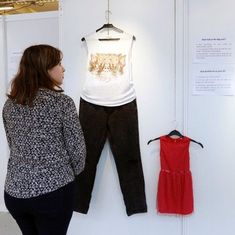 Video: An exhibition recreated outfits worn by rape victims at the time of their sexual assault