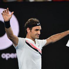 Australian Open men's roundup: Federer advances to third round, Wawrinka crashes out