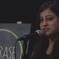 Watch: How is 'revenge porn' any different from sexual assault and voyeurism, asks this slam poet
