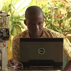 How a Togolese inventor built a 3D printer using recycled electronic waste