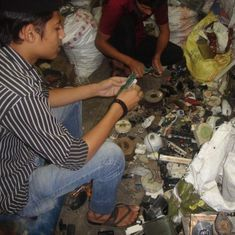 Hazardous e-waste is contaminating Delhi's groundwater and soil