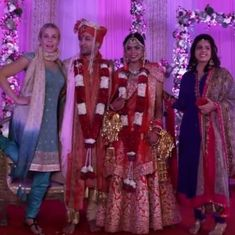 Watch: Talk show host Chelsea Handler attends an Indian wedding, and asks all the right questions