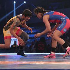 Pro Wrestling League: Vinesh Phogat beats sister Ritu as UP Dangal prevail over Veer Marathas