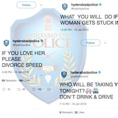 'Okay but stop yelling': Twitter is not amused with Hyderabad Police's sense of humour