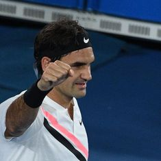 Aus Open men's round-up: Federer, Djokovic ease into last-16, Hyeon shocks Zverev in five sets