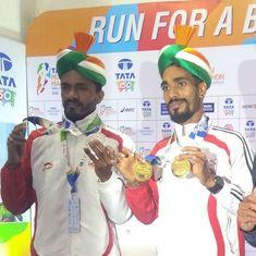 Mumbai Full Marathon: Gopi outruns Rawat for gold in India men's category, Sudha bags women's gold