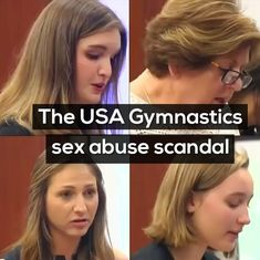 Watch: The gut-wrenching victim testimonies in the USA gymnastic sex abuse scandal