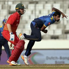 Thisara Perera helps Sri Lanka halt slide with win over Zimbabwe