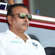 'Sometimes you feel people are happy when you lose': Ravi Shastri lays into critics