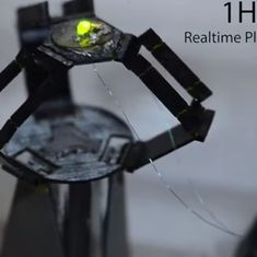 Watch: This tiny robot can move its 'arms' so fast they are a blur on camera