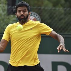 Indian tennis wrap: Rohan Bopanna out of Madrid Open, Sasi Kumar Mukund loses in Busan