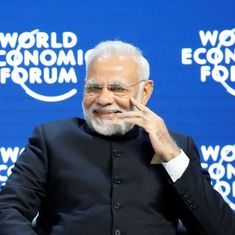 Modi warns against climate change, terrorism and protectionism at World Economic Forum in Davos